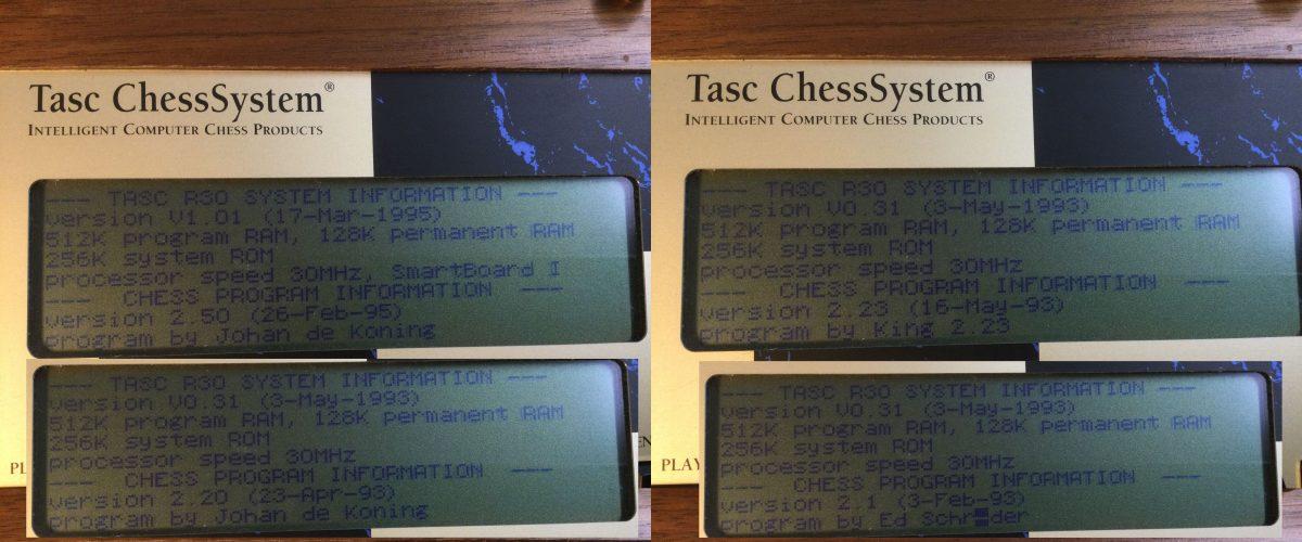 Tasc R30 – Umschaltbare Programmversionen